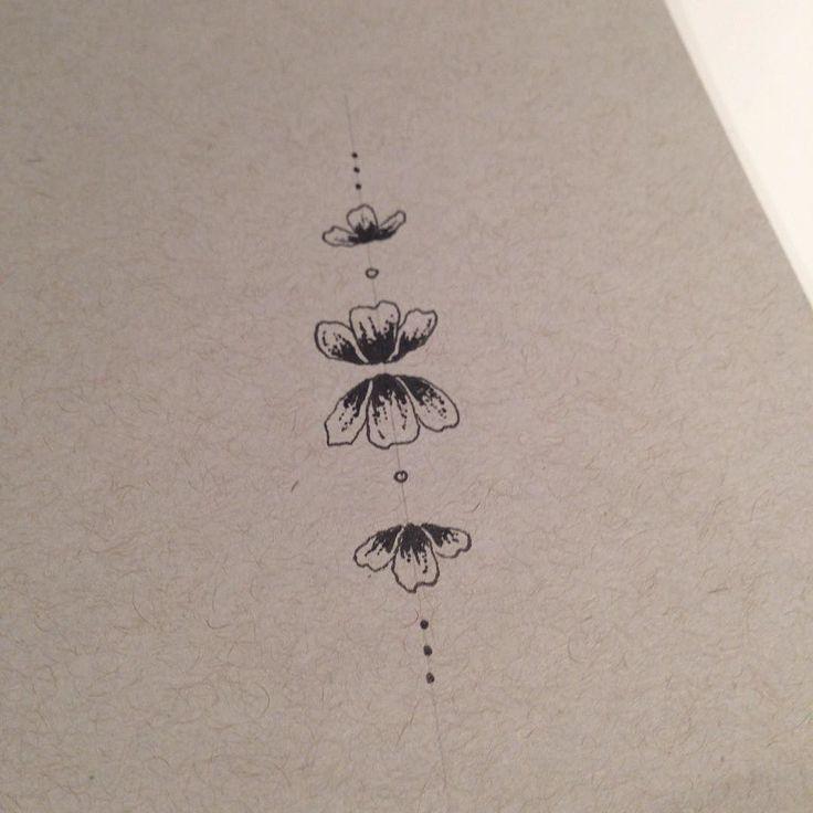 Minimalist tattoo ideas #tattoo #art #flowers http://ift.tt/1KW6pVc