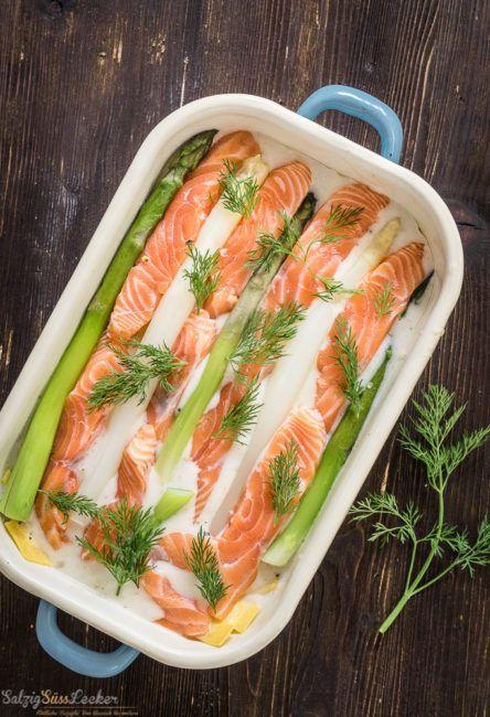 Spargel Lachs Lasagne Zum Dahinschmelzen Rezepte Mit Fisch