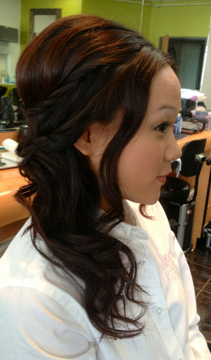 asian ponytail hairstyles fade