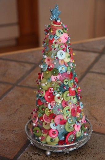 Simple handmade Christmas craft.