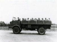 Vrachtauto, DAF YA 314, 3 ton, 4x4.