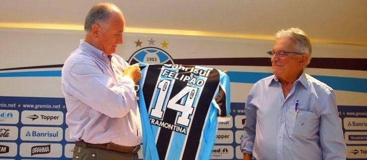 JORNAL O RESUMO - ESPORTE JORNAL O RESUMO: Felipão é o novo técnico do Grêmio