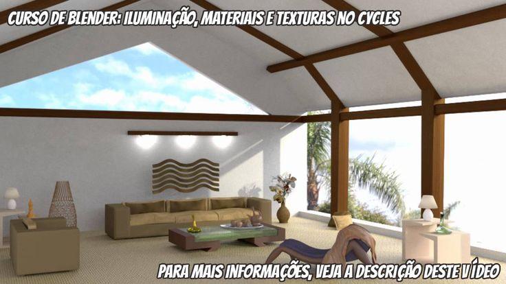 Curso de Blender: Iluminação, Materiais e Texturas no Cycles