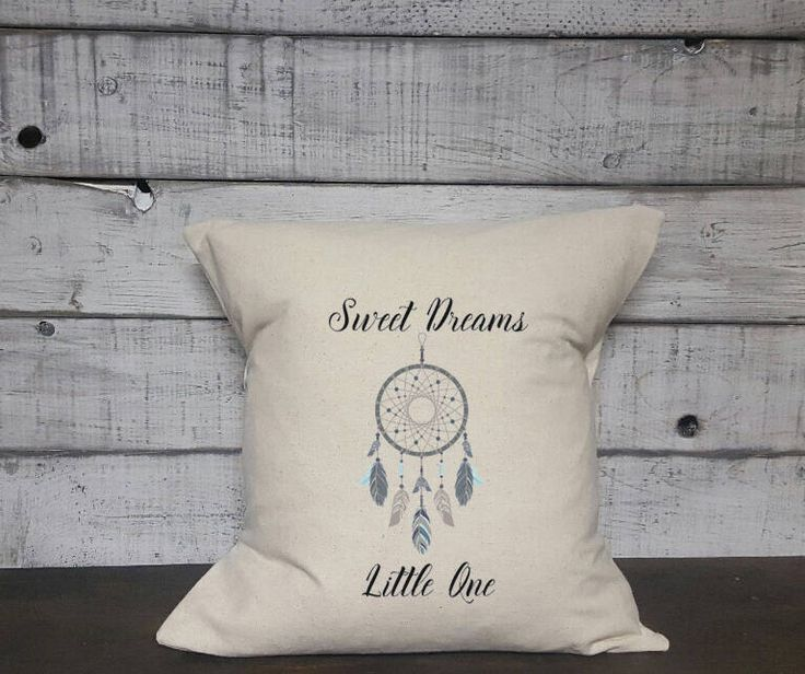 A personal favorite from my Etsy shop https://www.etsy.com/ca/listing/576747464/dreamcatcher-pillow-cover