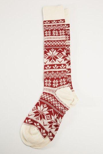 God I love a good winter sock