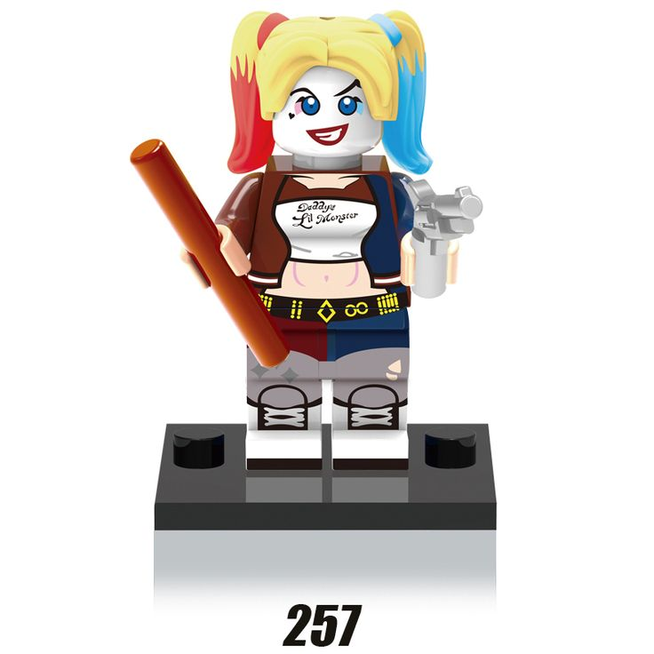 1PC Harley Quinn Minifigures Building Blocks Suicide Squad DC Batman Superhero Sets Models Figure Bricks Kids Toys Xmas Gift #>=#>=#>=#>=#> Click on the pin to check out discount price, color, size, shipping, etc. Save and like it!
