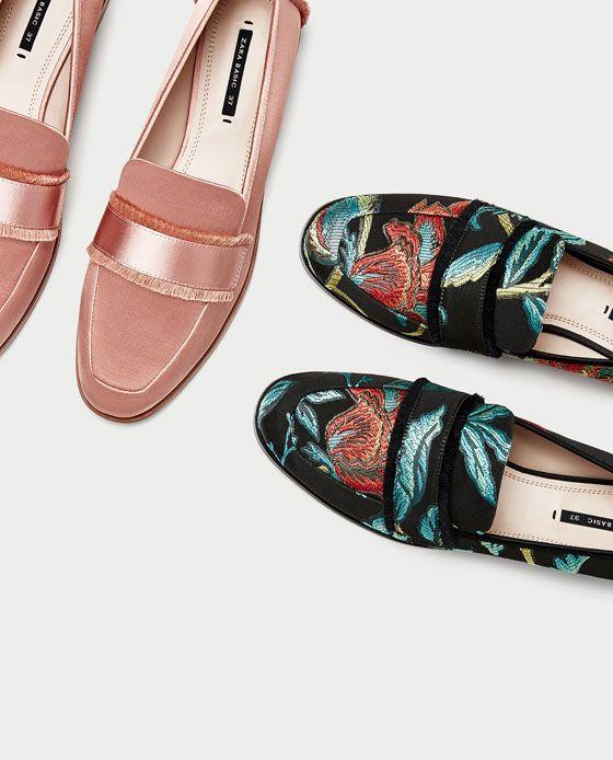 Women's Shoes   Pre-Fall 2017   ZARA France https://twitter.com/ShoesEgminfmn/status/895096695293329409