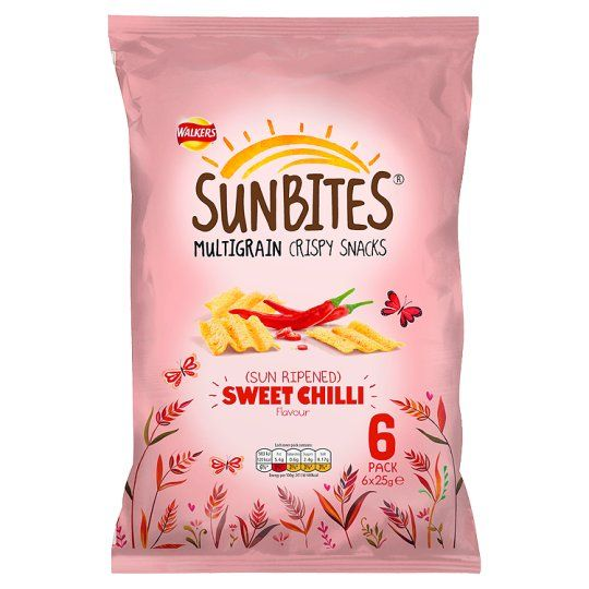 Walkers Sunbites Sun Ripened Sweet Chilli 6 Pack - Groceries - Tesco Groceries