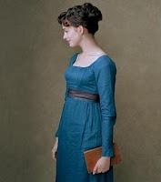 Jane Austen (Anne Hathaway) in Becoming Jane.