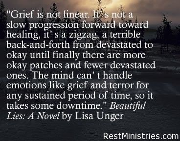 "What is grief? I love this description. . .  and how it says, ""it takes some down time."" Don't ever feel as though you are ""not on schedule"" when it comes to your grief. Every person is unique. The link leads to some great articles on dealing with #grief and living with #chronicillness"