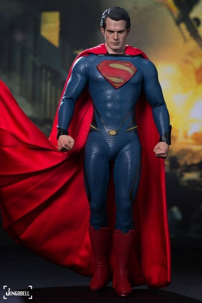 Hot toys MMS200 Man of Steel Superman Henry Cavill 1//6 Superman Hands