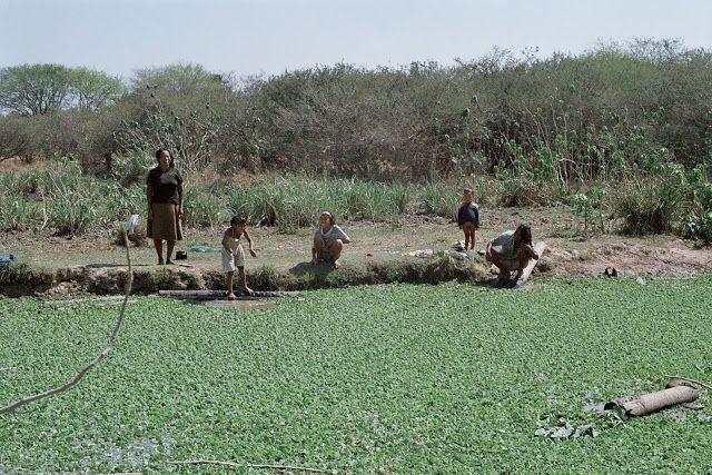 este era el cuarto de aseo y fuente de agua potable de los Maskoy del km. 11 tras 500 años de convivencia....