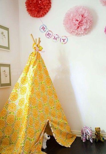 Gelb und orange einfachen Bedroom Interior Design Ideen Featuring spielen Zelten für Kinder passen alle modernen Heim-Homesthetics (18)