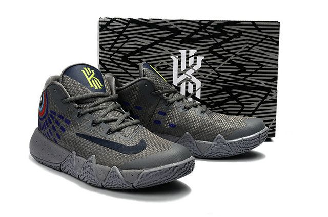 e875e24c9cc07a 2017-2018 Newest And Cheapest New Kyrie 4 Cool Grey Anthracite Polarized  Blue