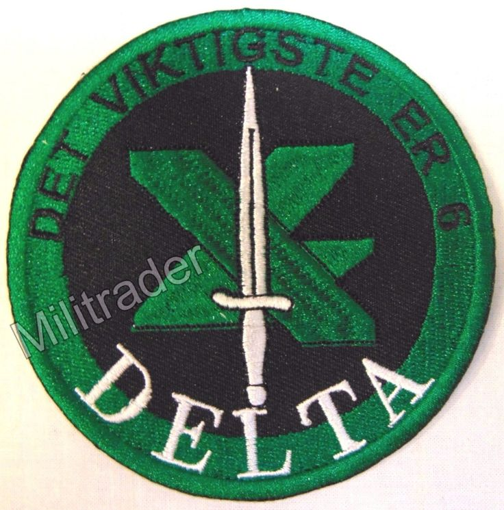 Norway Norwegian Special Forces Delta Patch