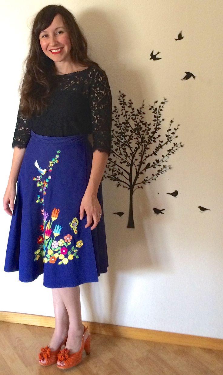 pretty folky skirt