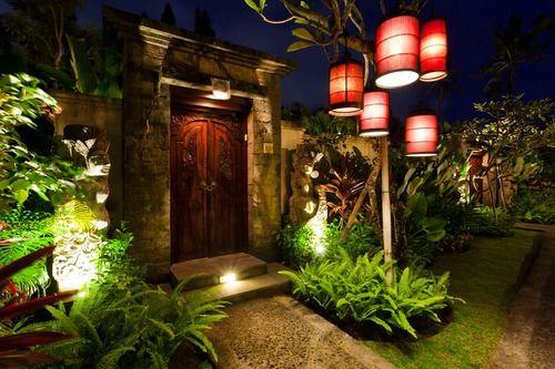 Villa entrance at White Rose villa