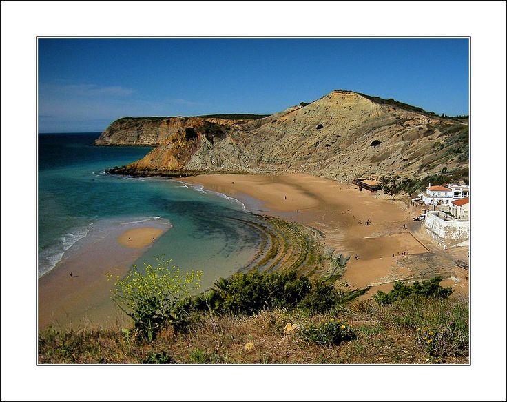 Burgau Beach, Porto de Mos - Portugal