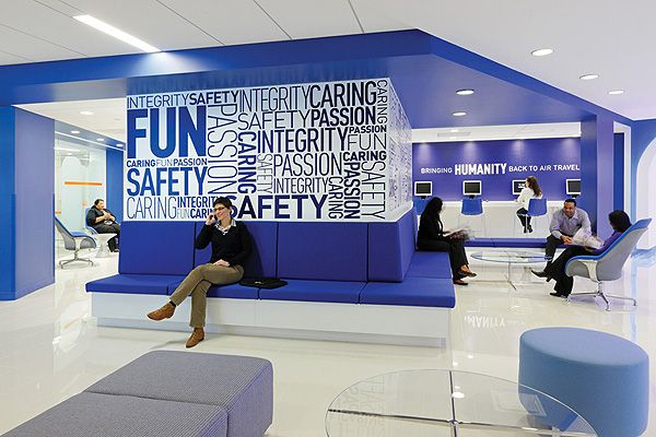 the bold jet blue offices by hlw international office on blue office color id=57344