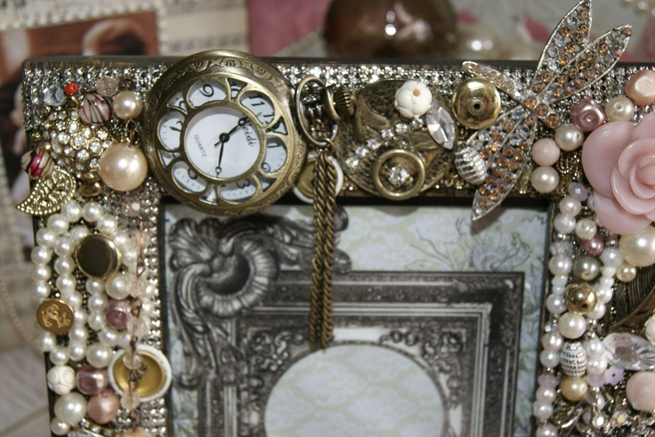 Handmade and exquisite accessories made using vintage treasures