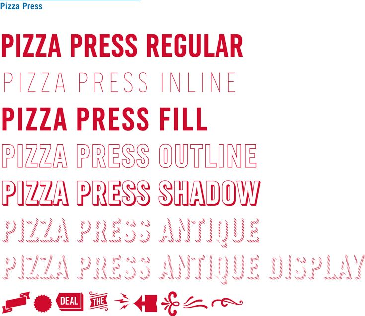 Reviewed: New Custom Type Family for Domino's Pizza by Monotype Studio