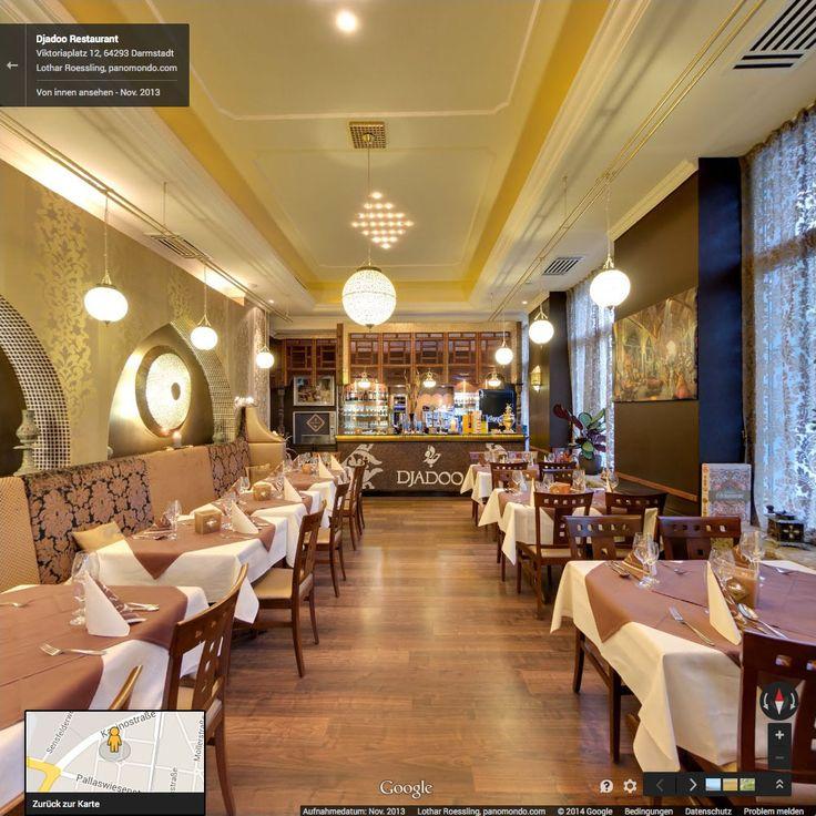 Google Street View Innenansicht // Djadoo Restaurant Darmstadt - November 2013 #StreetViewTrusted #GoogleStreetView  www.panomondo.com