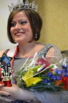 Kim Brown, Mother McAuley alumna, won Ms. Wheelchair Illinois in March and is truly an inspiration to all.