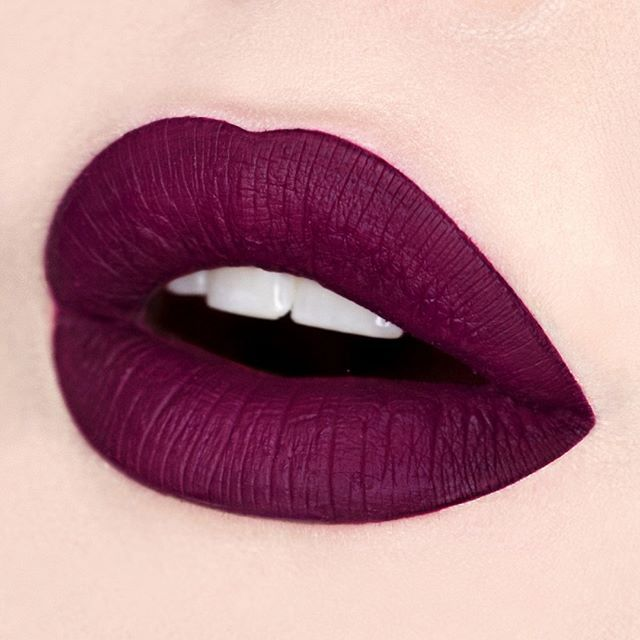 SCANDAL The rich plum Velvetine so intense, it'll makes them do a double take! Swatched by: @beautybypaisley