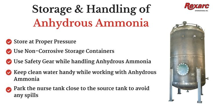 BEPeterson Inc., the leading metal fabricator offering tips on how to store & handle Anhydrous Ammonia.