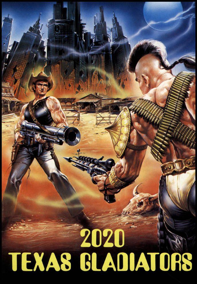 2020 Texas Gladiators aka Anno 2020 - I gladiatori del futuro , aka 2020 Freedom Fighters (1982) Stars: Al Cliver, Harrison Muller Jr., Daniel Stephen ~ Directors: Joe D'Amato,  George Eastman