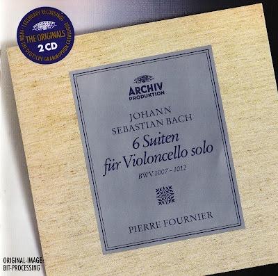 Johann Sebastian Bach. Suites para Violonchelo. Pierre Fournier. 1960 (descarga)