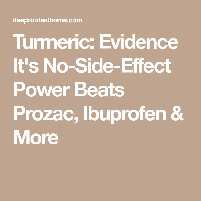 Turmeric: Evidence It's No-Side-Effect Power Beats Prozac, Ibuprofen & More
