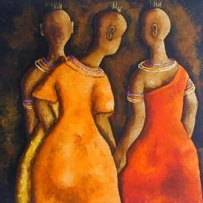 Turkana ladies by Mary Ogembo