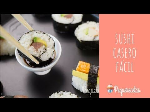 Sushi Fácil En 5 Pasos Cómo Hacer Sushi Casero Sushi