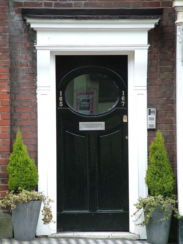Edwardian, c. 1900-1925. front door, UK