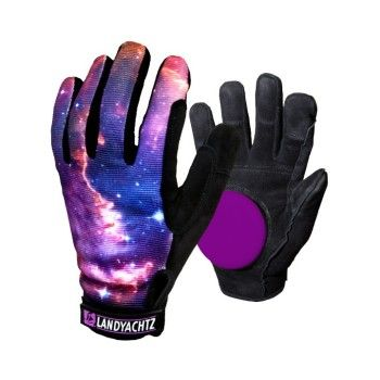 landyachtz space slide gloves longboard