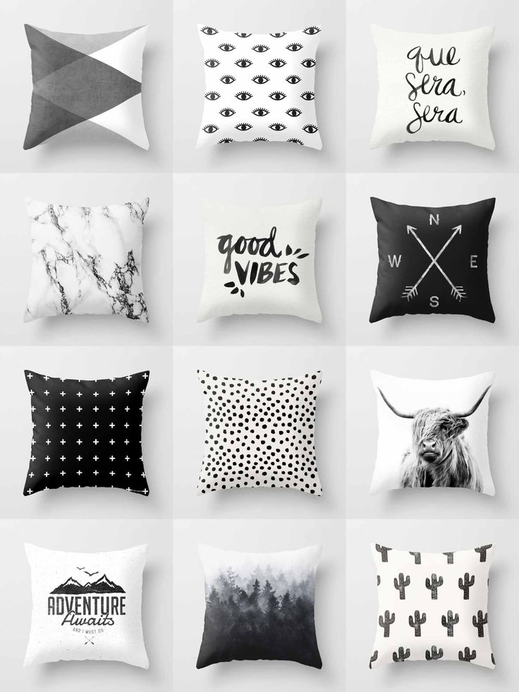 society6 black u0026 white throw pillows society6 is home to hundreds of thousands of artists