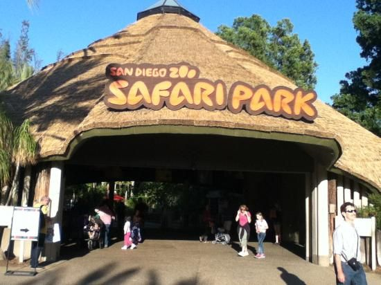 San Diego Zoo Safari Park (about an hour away from the San Diego Zoo) -  Escondido, CA