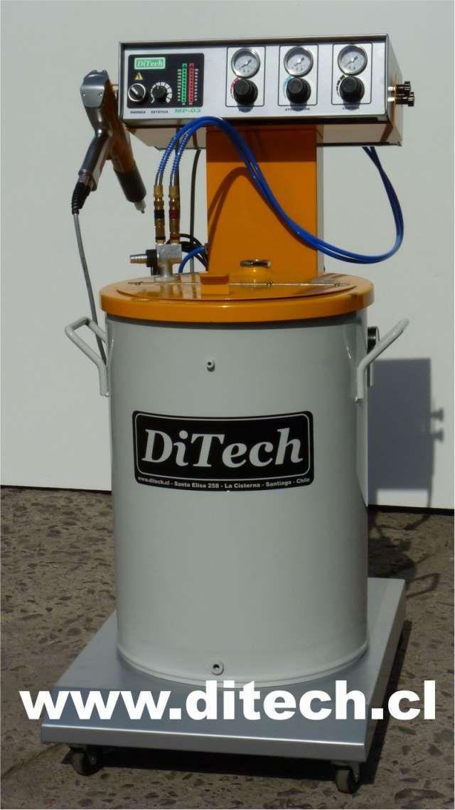 maquina para pintura en polvo electrostatica