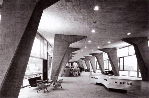 UNESCO Headquarters, Paris France (1952-1958) | Marcel Breuer/ Pier Luigi Nervi/ Bernard Zehrfuss