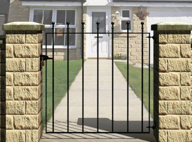 Metal Fence Gate