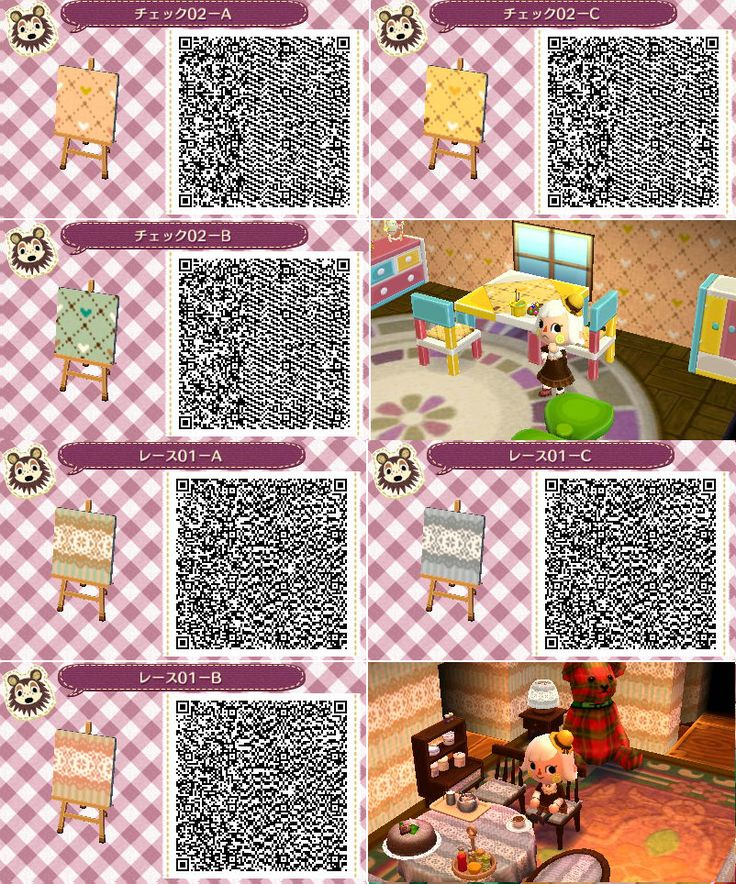 Acnl qr codes wallpaper acnl qr codes pinterest the for Animal crossing mural