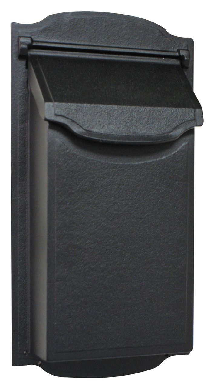 vertical wall mount mailbox - Wall Mounted Mailbox