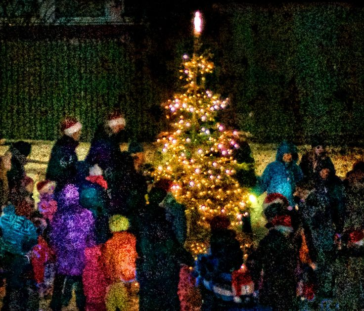 The first Christmas Tree 2014, Gouache digital, EM Brækstad