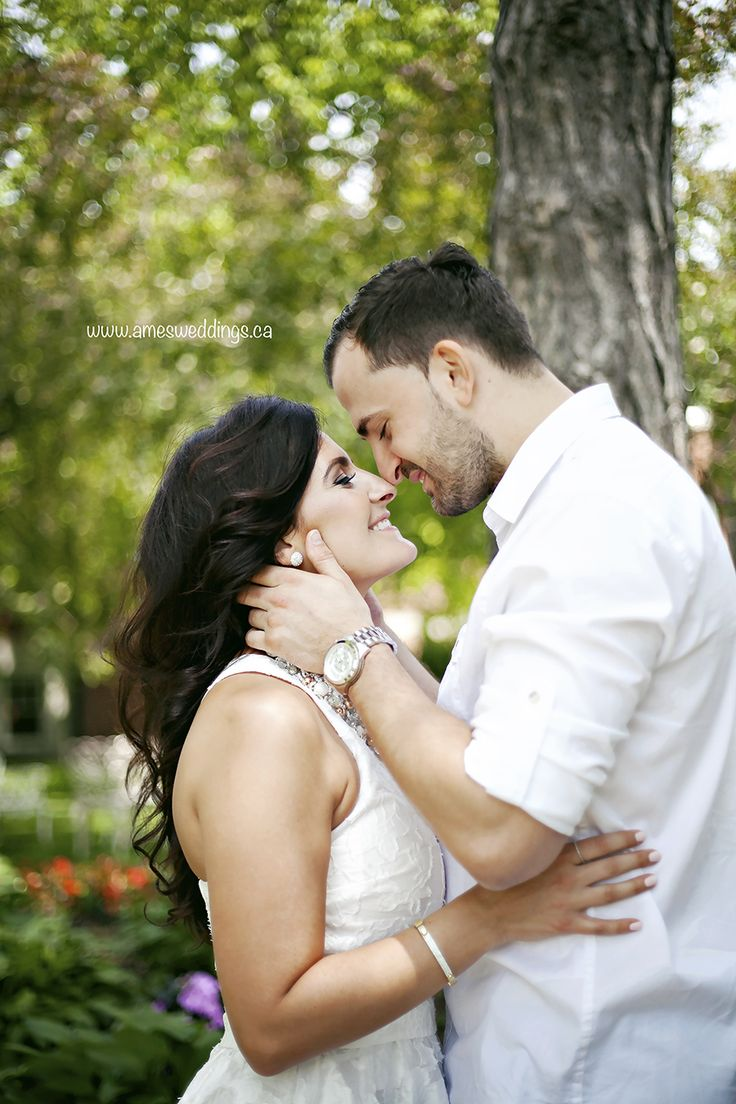 Fun and romantic engagement photos by Ames photography.