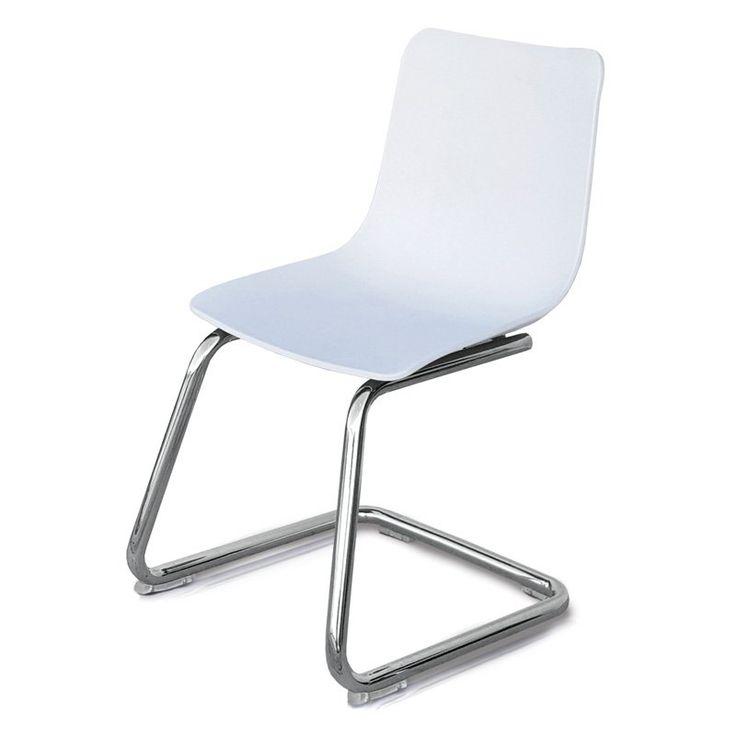 Pkolino Modern Kids Chair White - PKFFMKCWHT
