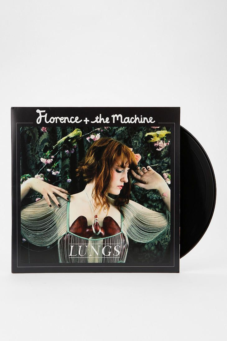 Florence And The Machine - Lungs LP and MP3 - Urban Outfitters #music #vinyl #record