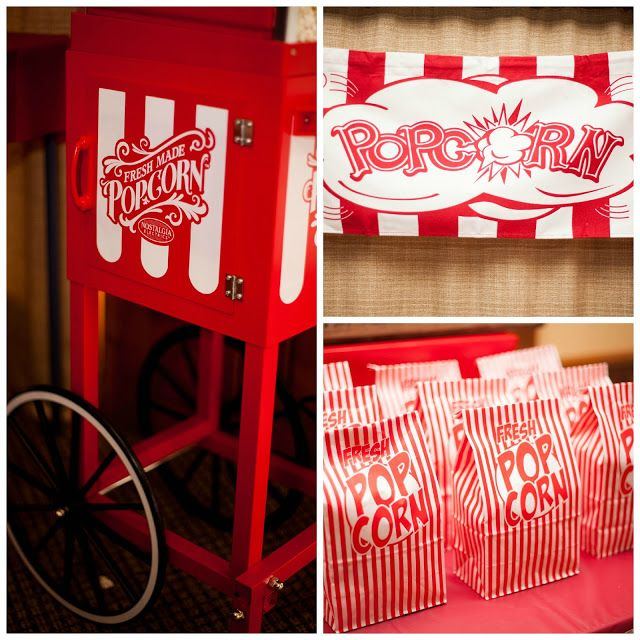 Retro Pop corn bags