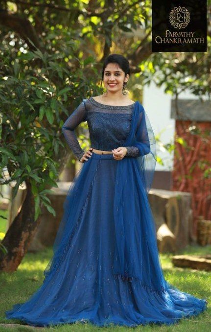 46 Ideas Wedding Guest Blue Dress Colour For 2019 Bride Reception Dresses Indian Gowns Dresses Indian Wedding Outfits