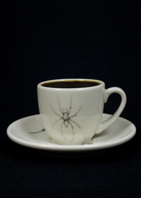 Marvelous CAVE SPIDER ESPRESSO CUP U0026 SAUCER Images